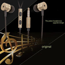 3.5mm In Ear Stereo Headphone Headset Super Bass Music Earphone Earbuds With Mic