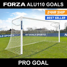 FORZA Alu110 Socketed Football Goals - Choose Your Size From A Great Range