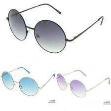 New Womens Ladies Mens Vintage UV400 Designer Round Retro Sunglasses SE87