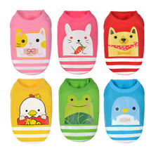 XXXS/XXS Cute Teacup Dog Clothes Small Pet Puppy Cat Clothing chihuahua yorkie