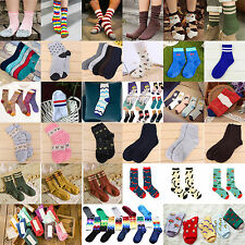 New Casual Cotton Socks Design Multi-Color Fashion Dress Men's Women's Socks HOT