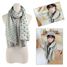 Spring Summer Autumn Fashion Charming Print Scarf Long Cotton Shawl Stole Wrap