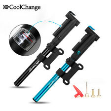 CoolChange Mini Gauge Pump 120psi Mountain Bike Bicycle Cycle Pump for Tyre Tire