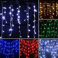 5M 216 LED String Curtain Light Home Xmas Party Wedding Decor Fairy  Room Lamps