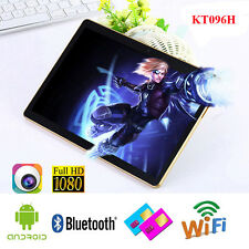 "Android 9.6"" WiFi Tablet PC Phone Dual SIM 16GB Octa Core 2GB GPS Bluetooth AL"