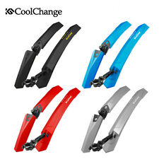 CoolChange Cycle Mudguards Front Rear Mountain Bike Bicycle Mud guards Fenders