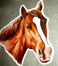 "Rivers Edge AUTO/TRUCK/SAFE MAGNETIC ART ""HORSE""  Chestnut White Blaze NIP!"