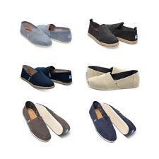 Authentic Toms Shoes New Classic Canvas Slip Ons Loafers Women Sizes Espadrilles