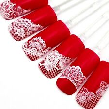 Nail Art Nail Stickers Lace Decals Manicure 24 Sheets Nail-painting BLLT