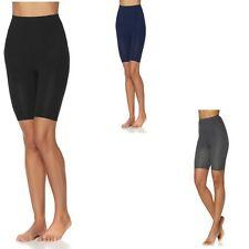 $24.90 Rhonda Shear Seamless High-Waist Cotton-Blend Bermuda Short Shaper 483058
