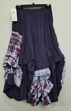 Luna Luz Graffiti Tie Dyed Skirt with Interior Ties Style 77TG Brand New w Tags!