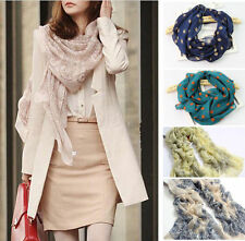 Hot Fashion Pretty Long Soft Chiffon Scarf Wrap Shawl Stole Scarves