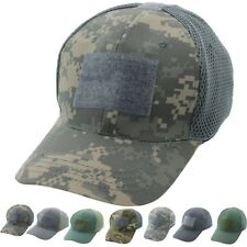 Tactical Operator Cap Adjustable Hook & Loop Military Patch Baseball Hat