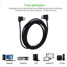 HDMI CABLE V1.4 1080P GOLD PLATED CONNECTOR BLURAY 3D TV DVD PS3 HDTV XBOX