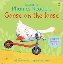 Early Readers Phonics Book - Usborne Phonics Readers: GOOSE ON THE LOOSE - NEW