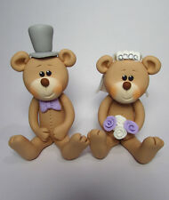 Wedding Cake Toppers Personalised Bride and Groom Bear