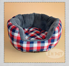 Puppy Bed Pet Dog Bed Cat Sofa House Basket Nest Mat Warm Soft Fleece Cushion