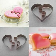 Crown Love Cookie Cutter Baking Mold Stainless Steel Biscuit Cake Decoration
