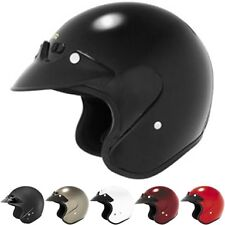 Cyber U-6 Open-Face Motorcycle Street DOT Protection Adult Helmets