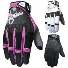2015 Joe Rocket Street Riding Gear Heart Breaker Womens Motorcycle Gloves