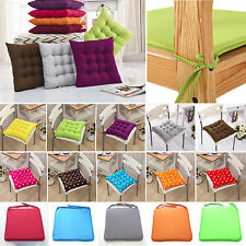Soft Tie On Seat Pads Dining Room Home Garden Kitchen Office Chair Pads Cushion