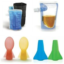 Cherub Baby On the Go Food Pouch WARMER n COOLER / + Pouches Set ~ INSTANT HEAT