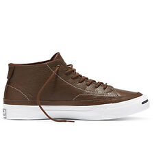 New Converse Jack Purcell Jack Purcell 2 Signature Leather Mid - Chocolate
