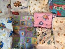 DISNEY WINNIE POOH PIGLET FROZEN LION KING CARS 101 DALMATIANS FITTED CRIB SHEET