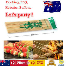 BULK Bamboo Skewers BBQ Kebab Fruit Cocktail Stick Canape Buffet Party Tableware