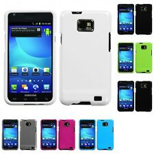 For Samsung Galaxy S2 i9100 Rigid Plastic Hard Snap-On Case Phone Cover