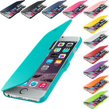 For Apple iPhone 6 (4.7) Magnetic Wallet Flip Hard Soft Case Cover Pouch Holder