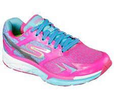 Skechers Go Run Forza Womens Running Shoe- 14105 - Hot Pink/Blue -Pick Size- NIB