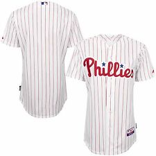 PHILADELPHIA PHILLIES HOME AUTHENTIC COOL BASE JERSEY NEW MAJESTIC 52 56