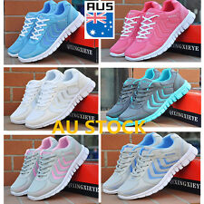 AU Women's Breathable Running Casual Sneakers Ultra-Light Sport Athletic Shoes