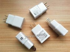 LOT 2A 5.0V AC USB Home Wall Charger For For Apple iPhone 7 6S 6 5S 5C
