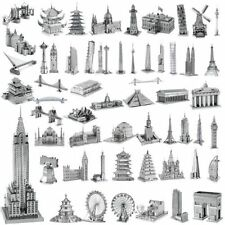 3D Metal Model Puzzle No Glue Jigsaw Laser Cut Assembly DIY Gift Toy Decoration