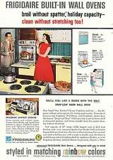 1959 Frigidaire Built-In Wall Ovens: Queen, Rainbow Co Print Ad (10480)