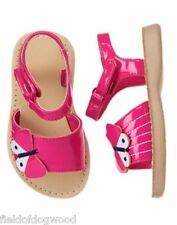 NWT Gymboree Island Hopper Butterfly gummy Sandals Shoes Toddler 5 6 7 8 9 10