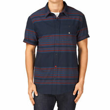 Brand New Without Tags BNWOT DC Draw The Line Short Sleeve Shirt Navy Sz S, M, L