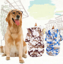 Large Big Winter Warm Dog Coat Pet Jacket Puppy Clothing Clothes Padded Hoodie