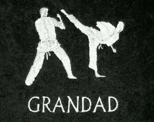 PERSONALISED KARATE TOWEL AVAILABLE IN 10  COLOURS