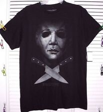 HALLOWEEN RESURRECTION MASK MICHAEL MEYERS MEN'S TEE SIZE S, M  NEW W/TAG!