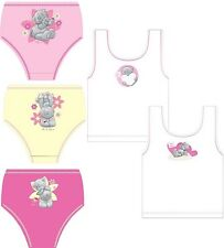 Girls Tatty Ted Me to You 3 Pack Briefs & 2 Pack Vest Set Age 2-4 5-6 7-8 Years