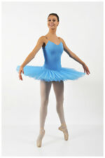 Professional Blue Platter Pancake Adult Tutu Ballet Competition Stage Costume
