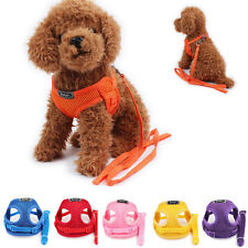 2016 NEW Pet Control Harness Strap Soft Walking Collar Vest For Dog Puppy Cat