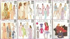 OOP McCalls Sewing Pattern Sleepwear PJs Lingerie Mixed Sizes You Pick