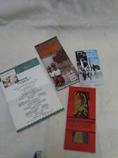 Great White Fleet United fruit Co Cruiseline Guatemala 12 pg Brochure Menu etc