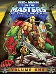 HE-MAN & THE MASTERS OF THE UNIVERSE Vol One DVD SET 3-DISC FACTORY SEALED 2007