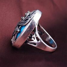 High-quality Charming Oval 4 Sizes Crystal Music Note Ring Resin Jewelry