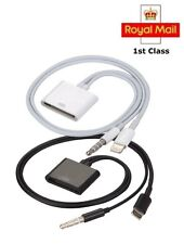 8 pin to 30 pin Dock Audio Adapter Converter Cable For iPhone 5/6 iPod iPad
